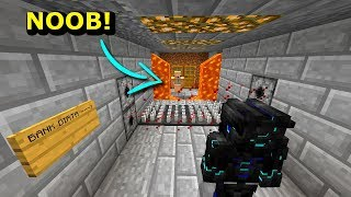 Minecraft NOOB VS PRO- NAPAD NA BANK NOOBA W MINECRAFT!