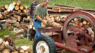 Repeat youtube video Widow Maker wood splitter