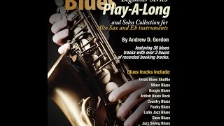 Blues Play-A-Long and Solos Collection Beginner Series for Bb & Eb Saxophone