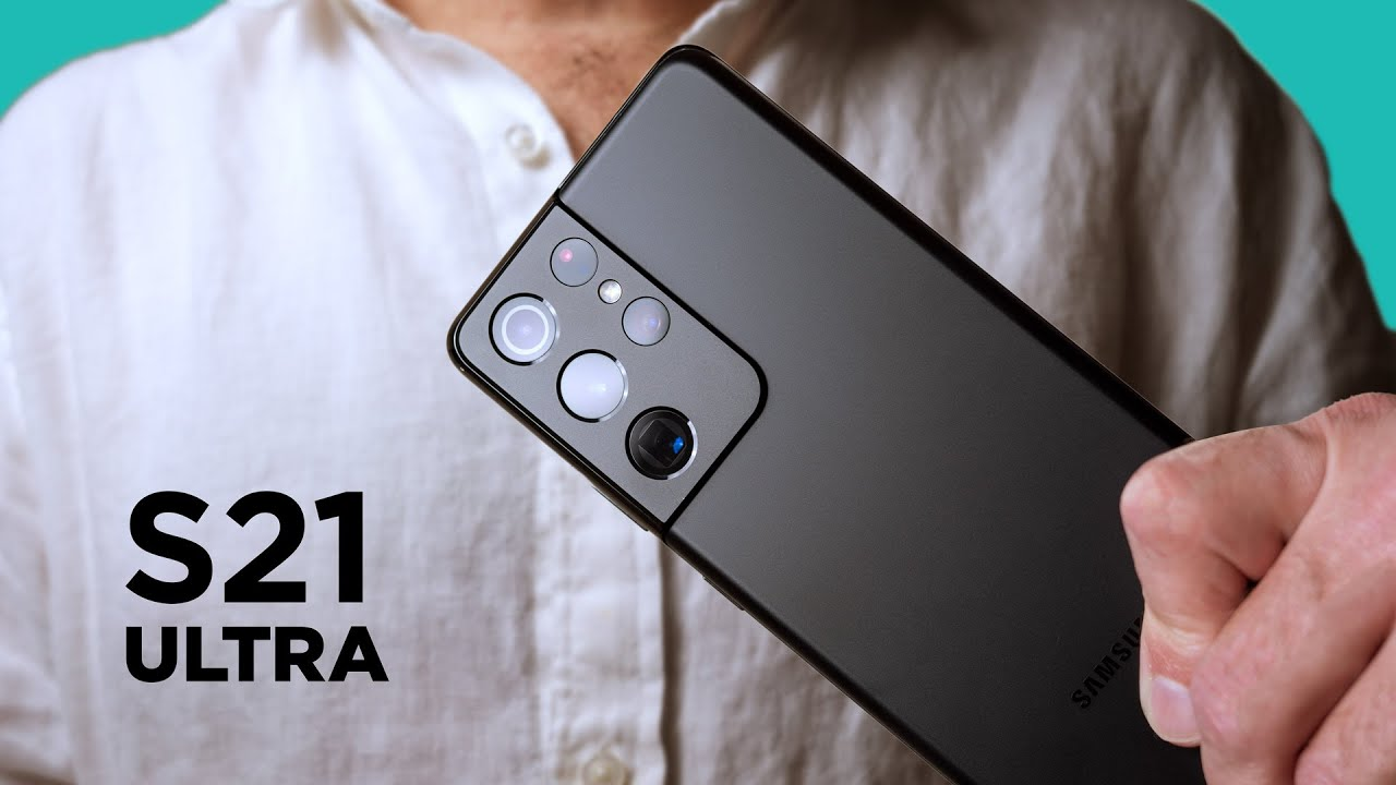Samsung S21 Ultra - BEST smartphone camera system they've done yet!