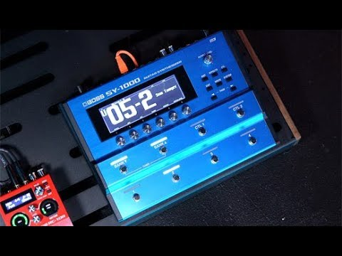Boss SY-1000 Guitar Synthesizer Demo | NAMM 2020