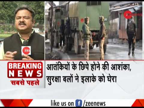 Breaking News: Search operation launched in Tral, J&K