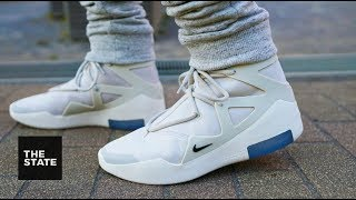 Reggie nearly took an L for the Nike Fear of God Light Bone color w...