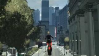 GTA 4 flying motorbike mod