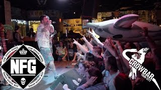New Found Glory's full set at Crowbar in Ybor, Tampa, Florida on We...