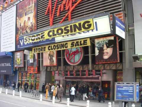 Goodbye Virgin Megastore NY: Postmodernist Look At Store Closings