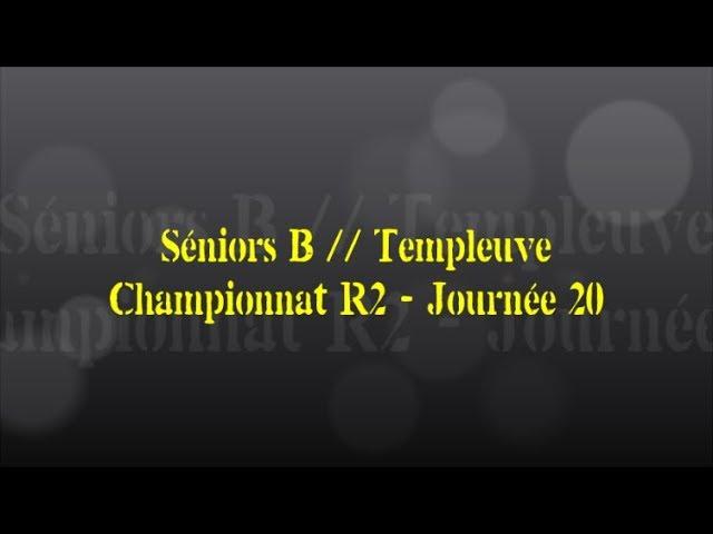 Retour sur le match... Séniors B // Templeuve