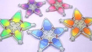 Shrink Plastic DIY Wayfinder [Kingdom Hearts Birth by Sleep]