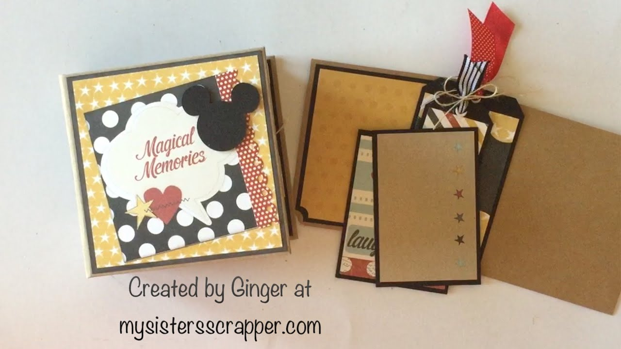 simple stories say cheese envelope mini album youtube. Black Bedroom Furniture Sets. Home Design Ideas