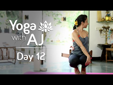 Twisting Poses For Detoxification | Day 12 | Yoga For Beginners - Yoga With AJ