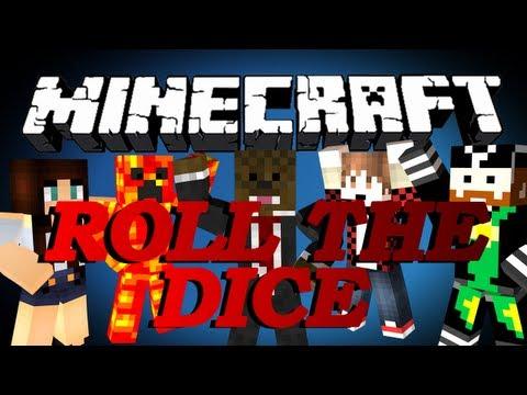 Minecraft Roll Of The Dice Minigame w/ BajanCanadian, CaveManFilms, TBNRFrags and AshleyMariee