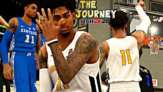 NBA 2K20 MyCAREER: The Journey #7 - WE MIGHT HAVE FOUND OUR NEXT SCHOOL! LAST GAME OF THE SEASON!