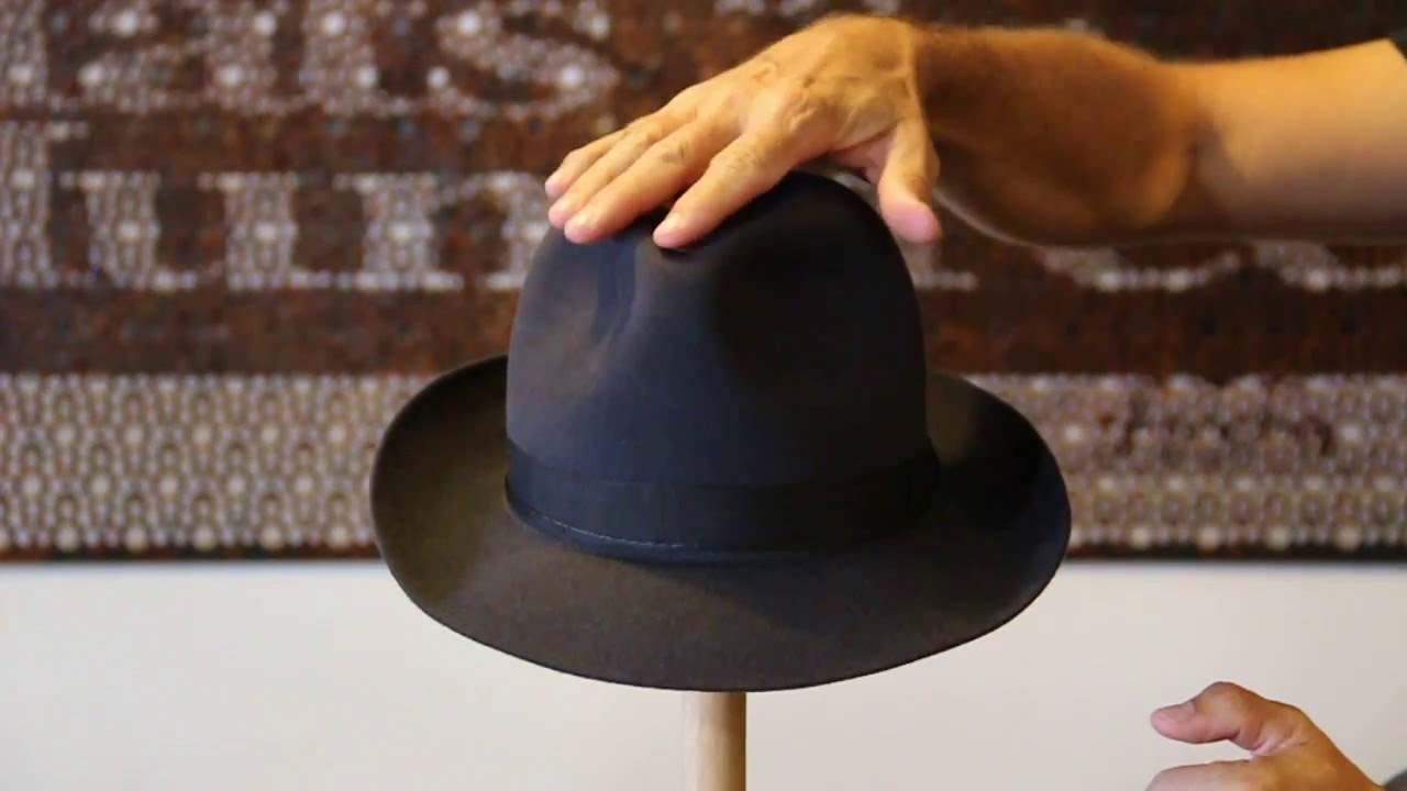 Akubra Fedora Carbon Grey Hat Review- Hats By The Hundred - YouTube 62f8bc0ab99