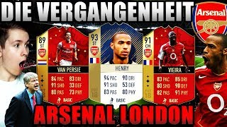 FIFA 18: OMG ARSENAL LONDON! DIE VERGANGENHEIT🔥⛔️ - (Deutsch) Ultimate Team - Icon Henry