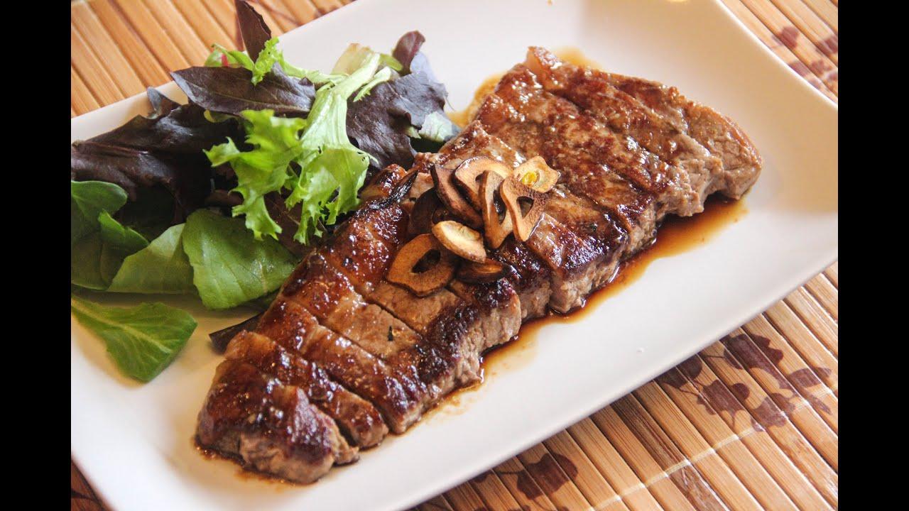 Japanese Beef Steak Recipe Japanese Cooking 101 Youtube