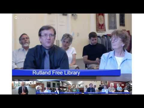 Vermont Libraries Videoconferencing Press Conference