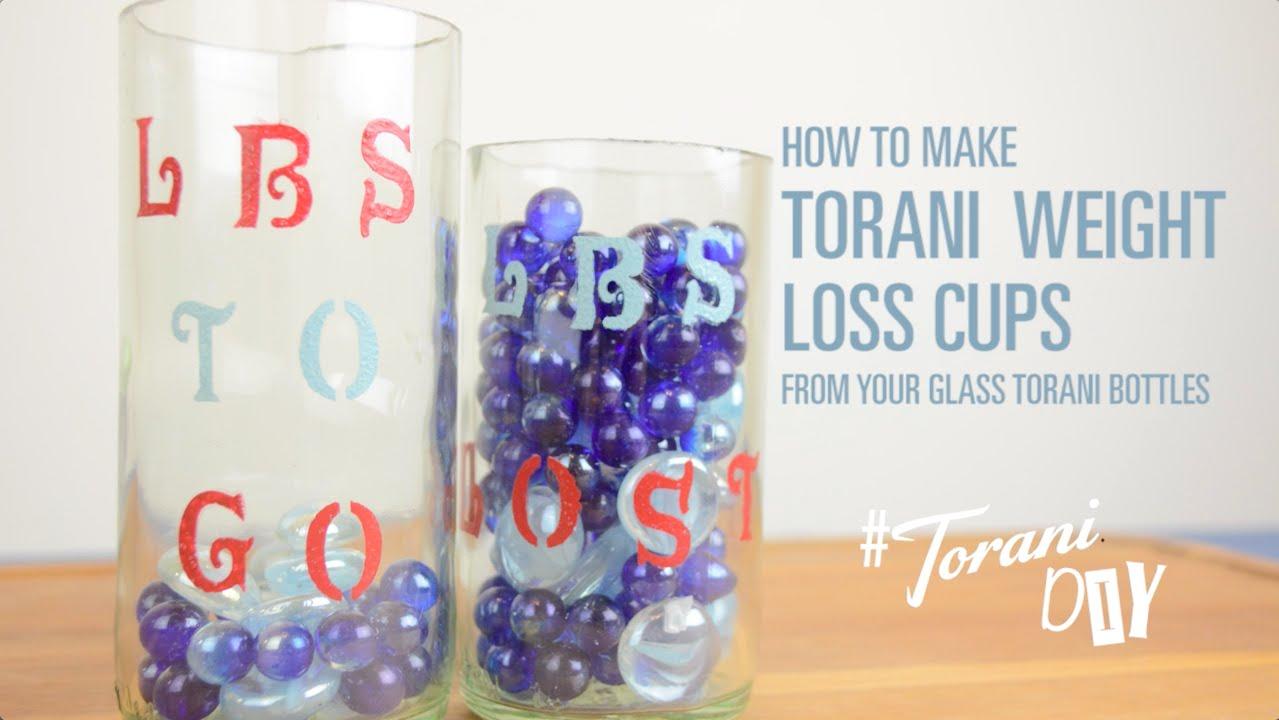 Torani Weight Loss Cups - YouTube