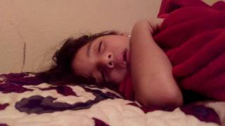 My sister sleep