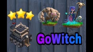 New Gowitch Th 9 3star attck stretgy||Clash of Clans||inhindi