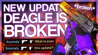 NEW CS:GO UPDATE BROKE THE DEAGLE (100% JUMP ACCURACY)