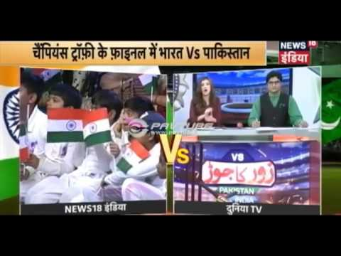 Pak vs Ind Takra Pakistani sikh Bashing Indian Media