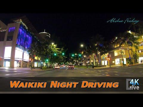 Hawaii Driving [Update: Aug 7, 2020]  Aloha Friday | Waikiki Night Driving | COVID-19 | Honolulu