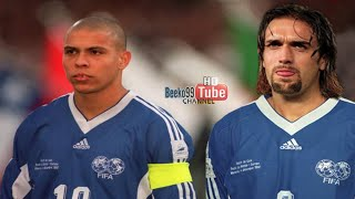 The Time When Ronaldo And Batistuta Played Together ● Destructive Duo ●