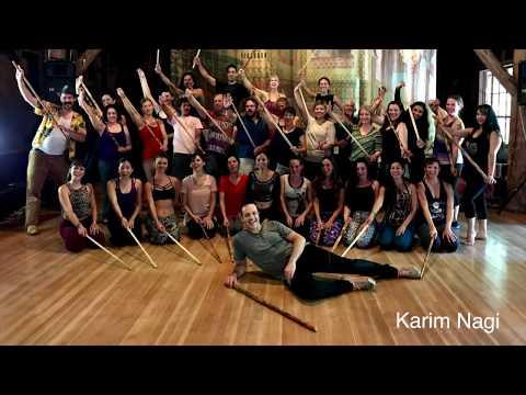 Saidi Raqs Assaya class with Karim Nagi (Egyptian Tahteeb stick dance)