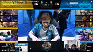 study the pros fly vs c9 game 1