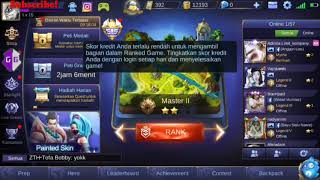 [Tutorial] Play RANK Mode Without Credit Score Problem - MOBILE LEGENDS