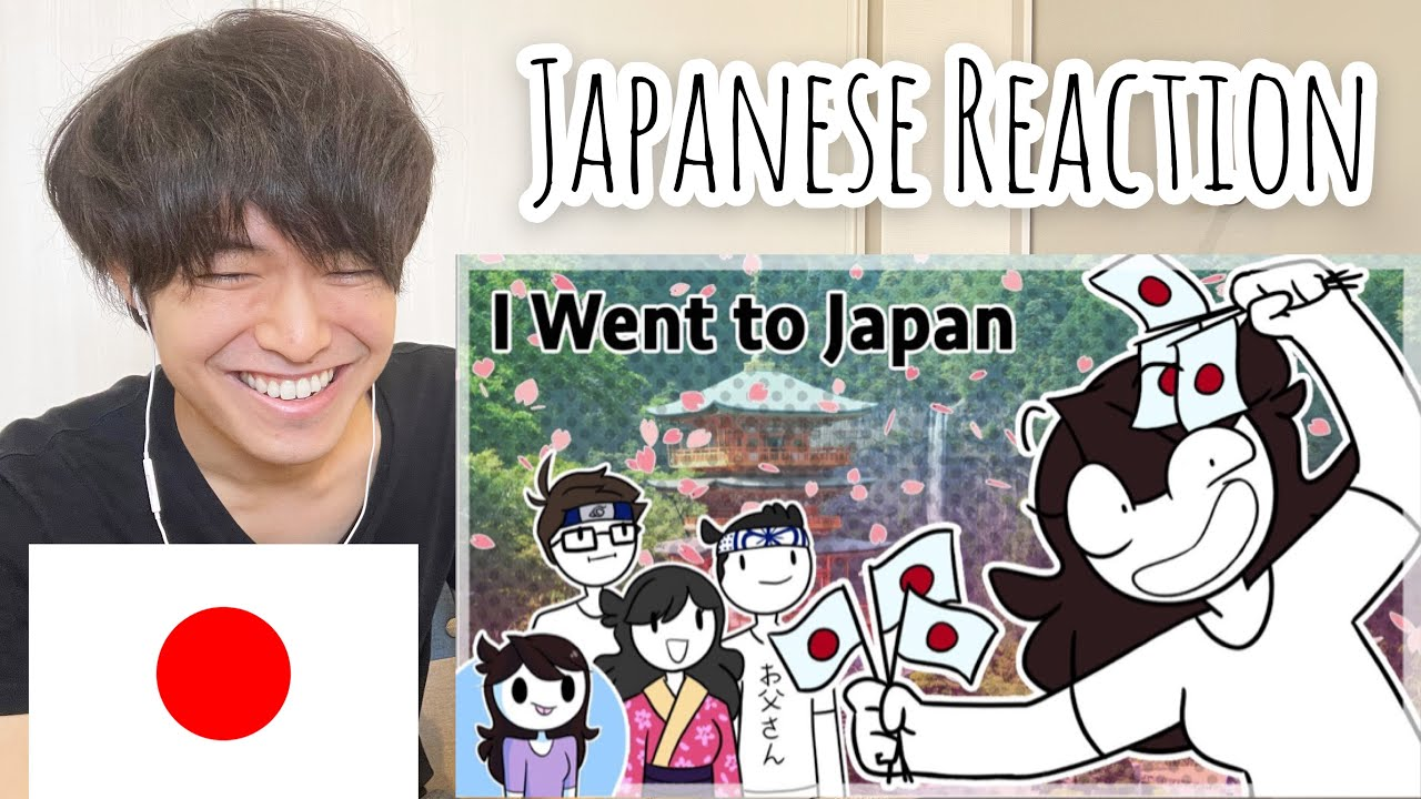"Japanese guy reacts to ""What my trip to Japan was like"" by Jaiden Animations"