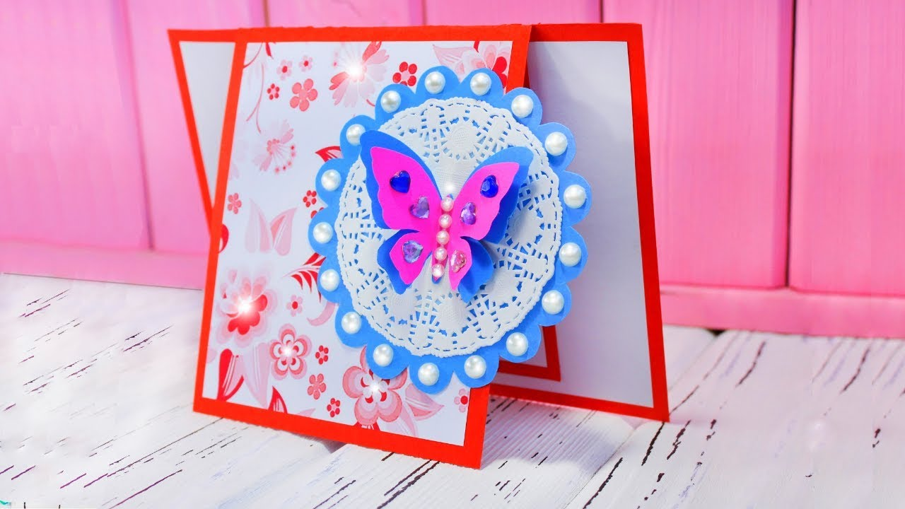 beautiful handmade birthday card ideas diy greeting cards