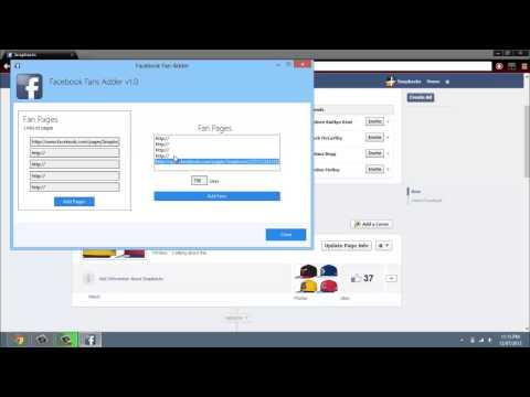 Facebook Likes Adder Facebook Fan Adder v2 15 Get