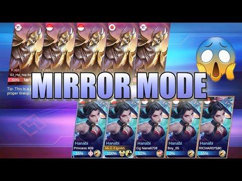 MIRROR MODE FIRST GAMEPLAY - 5 Hanabi VS 5 Kaja