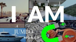 """💸Best """"I AM RICH"""" Video on YouTube 2019! Millionaire Affirmations to Attract Wealth like a JUMBO 🧲"""
