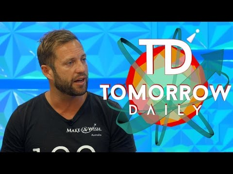 Sebastian Terry changes peoples' lives, '100 Things' at a time (Tomorrow Daily, Ep 345)