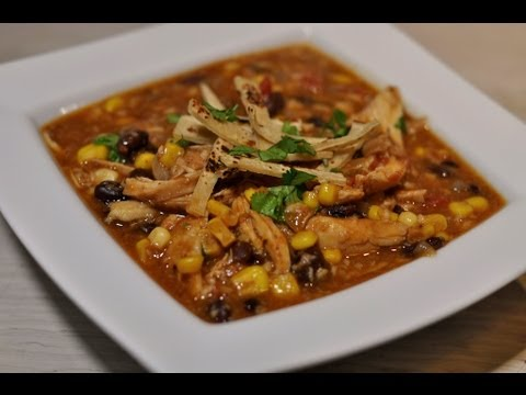 Quick and Easy Chicken Tortilla Soup Recipe