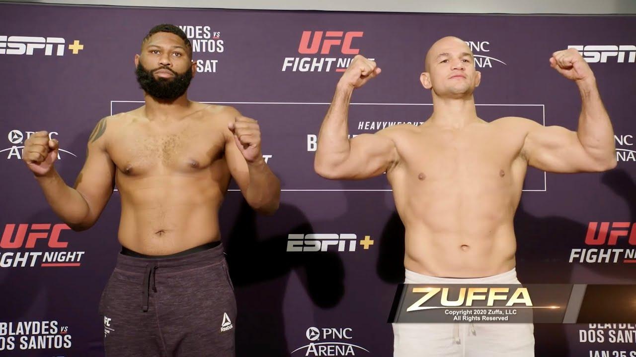 Битва взглядов UFC Fight Night 166