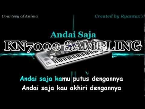Karaoke Anima   Andai Saja KN7000 Sampling