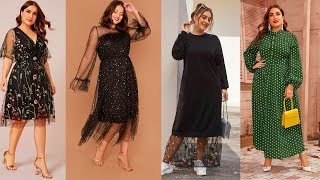 Очень Стильные Платья 2020 Для Женщин 40 50 ПЛЮС