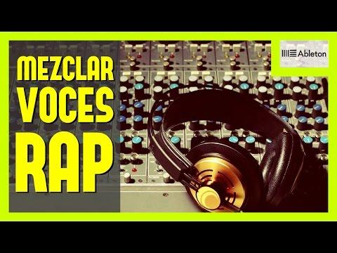 COMO MEZCLAR VOCES DE RAP EN ABLETON LIVE | Cadena de efectos y configuración