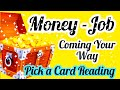 MONEY, NEW JOB, TRIPS AND TRAVEL FOR YOU AHEAD - PICK A CARD READING- TIMELESS- ALL SUN SIGNS- MWT