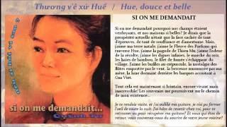 QUYNH TU : Thương v'ê xứ Huế / Hue, douce et belle