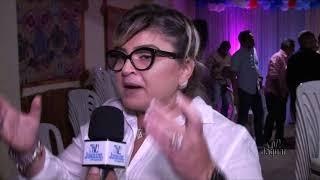 Prefeita Íris Gadelha participa de evento político em Jaguaruana