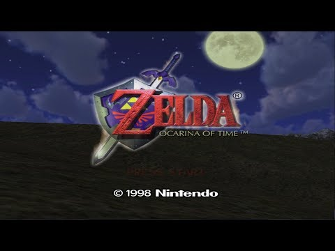Scorpios9472's Live Stream - The Legend of Zelda: Ocarina of Time - The Great Beginning -
