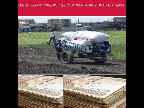 Jubilee government wheeler-dealer allegedly transported stolen Kshs  600  Million on