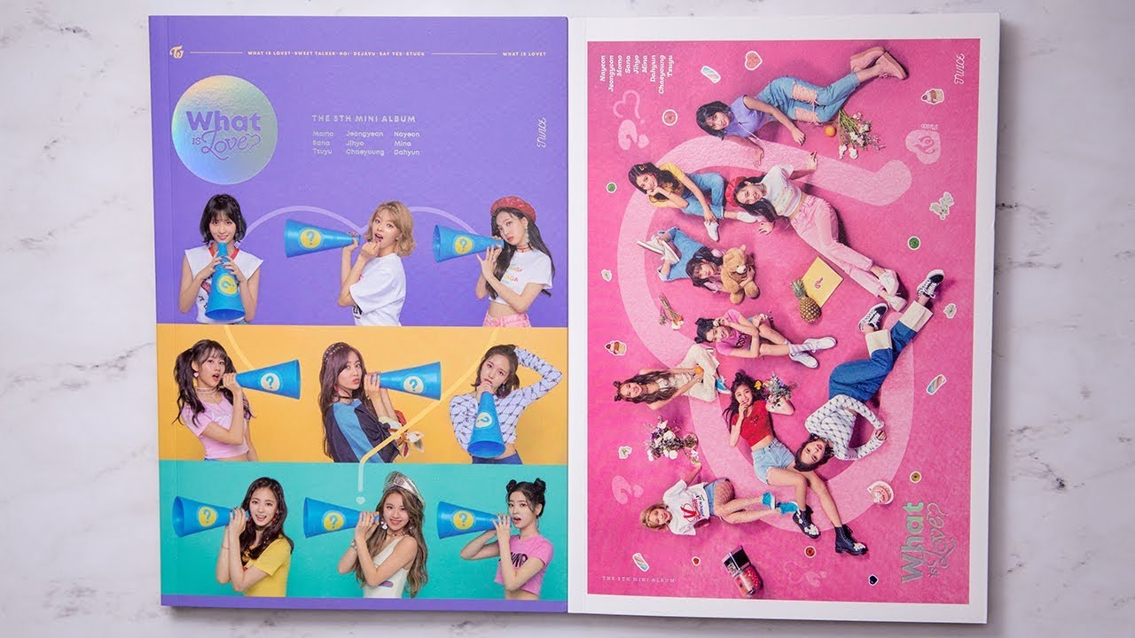 Unboxing | TWICE Mini Album Vol  5 - WHAT IS LOVE? (A + B Version) + 2  Photo Card Sets