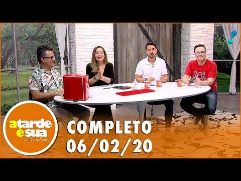 A Tarde é Sua (06/02/20) | Completo |  Mp3 Download