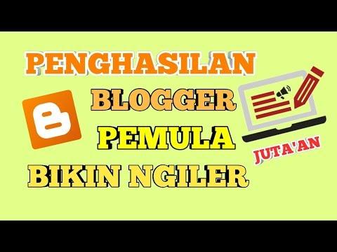 Berapa Penghasilan Blogger Pemula Dari Iklan Google Adsense Dalam 1 Bulan ?