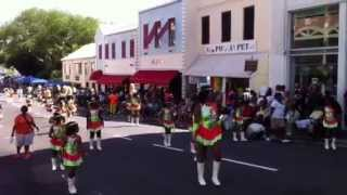 Majorettes at the Bermuda Day Parade 2013
